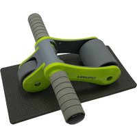 Image of Viavito Tuyami Folding Ab Wheel - Green
