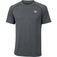 Wilson Core Crew Mens T-Shirt - Grey, XXL