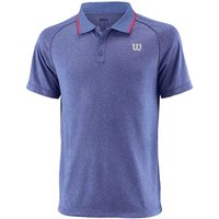Wilson Core Mens Polo Shirt - Blue, S