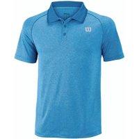 Wilson Core Mens Polo Shirt - Blue, S
