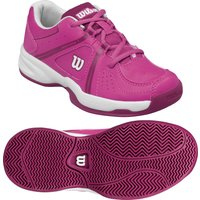 Wilson Envy Junior Tennis Shoes - Pink/White, 4.5 UK