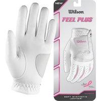 Wilson Feel Plus Ladies Golf Glove - S