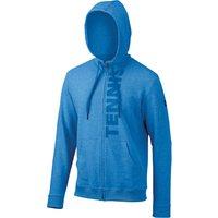 Wilson Full Zip Mens Hoodie - Blue, M
