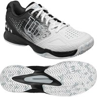 Wilson Kaos Comp Mens Tennis Shoes - Black/White, 12 UK