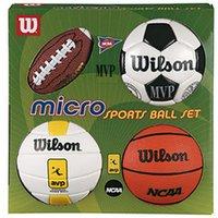 Wilson Micro Sports 4 Ball Kit