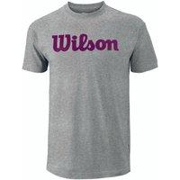Wilson Script Cotton Mens T-Shirt - M