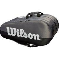 Wilson Team 15 Racket Bag - Grey/Black