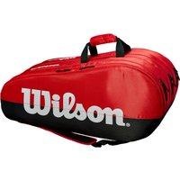 Wilson Team 15 Racket Bag - Black/Red