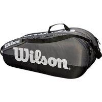 Wilson Team 6 Racket Bag - Grey/Black
