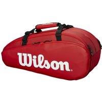 Wilson Tour 6 Racket Bag - Red