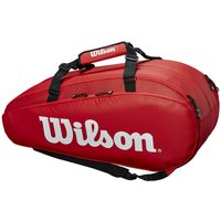 Wilson Tour 9 Racket Bag - Red