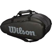 Wilson Tour 9 Racket Bag - Black/Grey