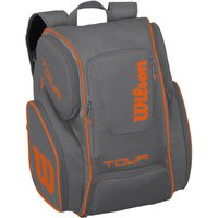 Wilson Tour V Large Backpack - Grey/Orange