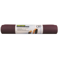 Yoga Mad Tree Mat Natural Rubber Yoga Mat - Aubergine