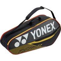 Yonex 42026 Team 6 Racket Bag - Black/Yellow