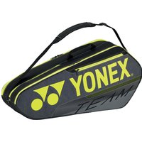 Yonex 42126 Team 6 Racket Bag - Black