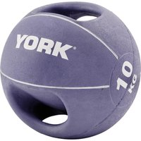 Image of York 10kg Double Grip Medicine Ball