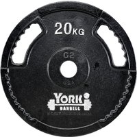 Image of York 20kg G2 Cast Iron Olympic Weight Plate