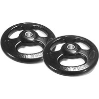 Image of York 2 x 20kg Rubber ISO-Grip Weight Plates