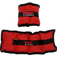 Image of York Wrist and Ankle Weights - 2 x 1kg