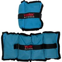 Image of York Wrist and Ankle Weights - 2 x 2kg