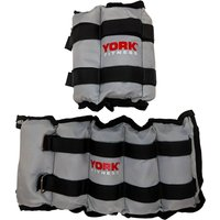 Image of York Wrist and Ankle Weights - 2 x 3kg