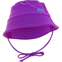 Zoggs Barlins Bucket Sun Protection Hat - Purple