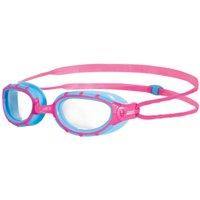 Zoggs Predator Junior Swimming Goggles - Blue/Pink