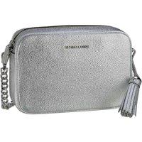 Michael Kors Umhängetasche Jet Set Medium Camera Bag Metallic Silver