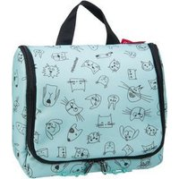 reisenthel Kulturbeutel / Beauty Case kids toiletbag Cats and Dogs Mint (3 Liter)