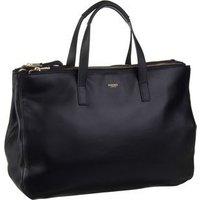Knomo Handtasche Mayfair Luxe Derby 14`` Black