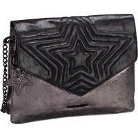 Fredsbruder Handtasche Peia Metallic Black/Steel