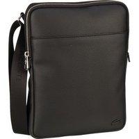 Lacoste Umhängetasche Flat Crossover Bag M 2840 Black