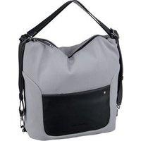 Mandarina Duck Handtasche Camden Hobo Backpack VBT06 Silver