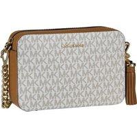 Michael Kors Umhängetasche Ginny Medium Camera Bag MK Signature Vanilla