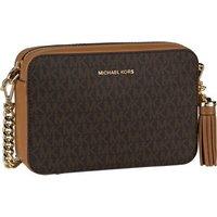 Michael Kors Umhängetasche Ginny Medium Camera Bag MK Signature Brown