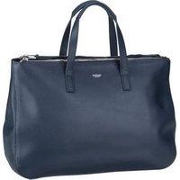 Knomo Handtasche Mayfair Luxe Derby 14`` Navy