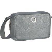 Mandarina Duck Umhängetasche Mellow Leather Lux Camera Bag ZLT22 Silver