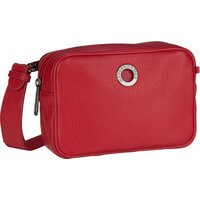 Mandarina Duck Umhängetasche Mellow Leather Camera Bag FZT22 Flame Scarlet