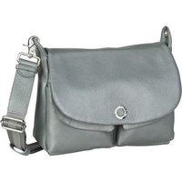 Mandarina Duck Umhängetasche Mellow Leather Lux Shoulder Bag ZLT23 Silver