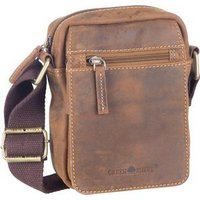 Greenburry Umhängetasche Vintage 1610 Brown