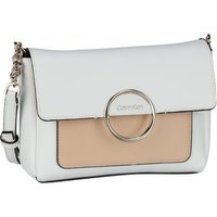 Calvin Klein Umhängetasche Disc Shoulder Bag SM SP20 White Mix