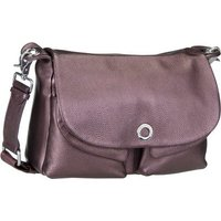Mandarina Duck Umhängetasche Mellow Leather Lux Shoulder Bag ZLT23 Blackberry Syrup