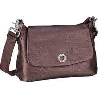 Mandarina Duck Umhängetasche Mellow Leather Lux Small Shoulder Bag ZLT31 Blackberry Syrup