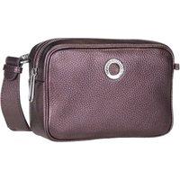 Mandarina Duck Umhängetasche Mellow Leather Lux Camera Bag ZLT22 Blackberry Syrup