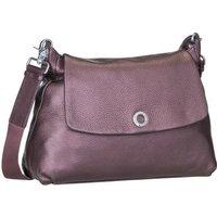 Mandarina Duck Umhängetasche Mellow Leather Lux Shoulder Bag ZLT30 Blackberry Syrup