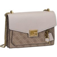 Guess Umhängetasche Valy Convertible XBody Flap Latte