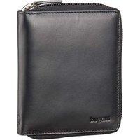Bugatti Geldbörse Primo Zip Wallet 8 Kartenfächer Schwarz