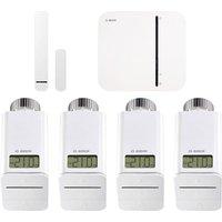 Bosch Smart Home - Starter Set Heizung mit 3 Thermostaten + Tür-/Fensterkontakt + gratis Thermostat