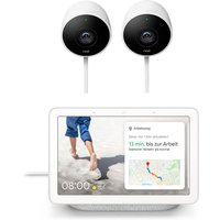 Google Nest Cam Outdoor 2-pack + gratis Google Nest Hub
